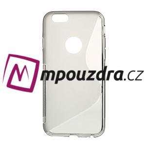 Gélové S-line puzdro na iPhone 6, 4.7 - šedé - 1