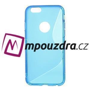 Gélové S-line puzdro na iPhone 6, 4.7 - modré - 1