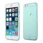 Ultra slim 0.7 mm gélové puzdro na iPhone 6, 4.7  - modré - 1/7