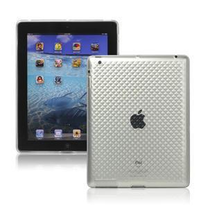Gélové puzdro pre iPad 2, 3, 4- transparentný