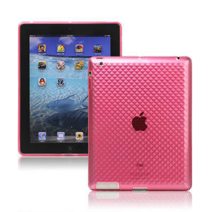 Gélové puzdro pre iPad 2, 3, 4- růžový