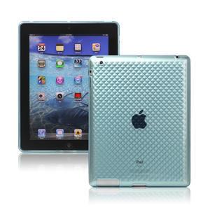 Gélové puzdro pre iPad 2, 3, 4- modrý