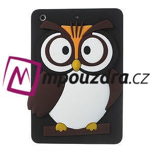 Silikonové puzdro na iPad mini 2 - hnědá sova - 1