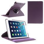 PU kožené 360° puzdro pre iPad mini- fialové - 1/7
