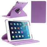 PU kožené 360° puzdro pre iPad mini- svetlefialové - 1/7