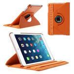 PU kožené 360° puzdro pre iPad mini- oranžové - 1/7