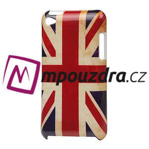 Plastové puzdro na iPod Touch 4 - UK vlajka - 1