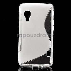 Gélové S-line  puzdro pre LG Optimus L5 II E460- transparentný - 1