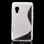 Gélové S-line  puzdro pre LG Optimus L5 II E460- transparentný - 1/5