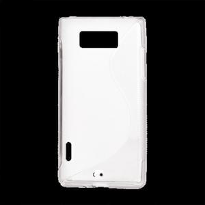 Gélové S-line puzdro pre LG Optimus L7 P700- biele
