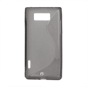 Gélové S-line puzdro pre LG Optimus L7 P700- čierné