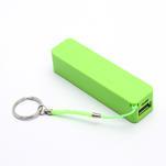 2600mAh externí baterie Power Bank - zelená - 1/6