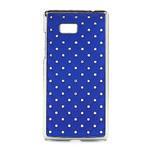 Drahokamové puzdro pre HTC Desire 600- modré - 1/5