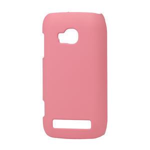 Pogumované puzdro pre Nokia Lumia 710- svetleružové