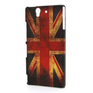 Plastové puzdro pre Sony Xperia Z L36i C6603- UK vlajka - 1