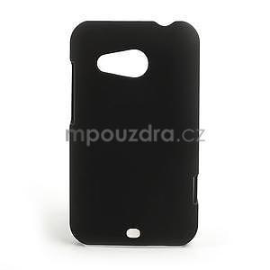 Pogumované puzdro pre HTC Desire 200- čierné - 1