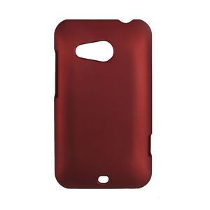 Pogumované puzdro pre HTC Desire 200- červené - 1