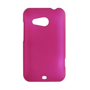Pogumované puzdro pre HTC Desire 200- růžové - 1