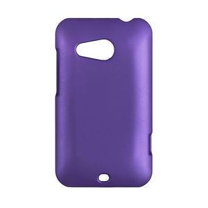 Pogumované puzdro pre HTC Desire 200-fialové - 1