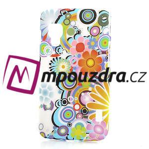 Plastové puzdro pre LG Optimus L5 Dual E455- krásné květiny - 1