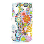 Plastové puzdro pre LG Optimus L5 Dual E455- krásné květiny - 1/3