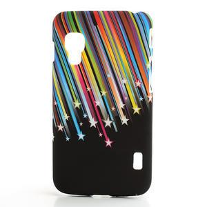 Plastové puzdro pre LG Optimus L5 Dual E455- meteor farebný - 1
