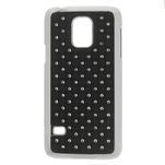 Drahokamové puzdro pre Samsung Galaxy S5 mini G-800- čierne - 1/5