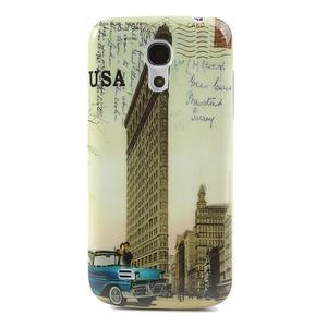 Plastové pouzdro na Samsung Galaxy S4 mini i9190- USA budova - 1
