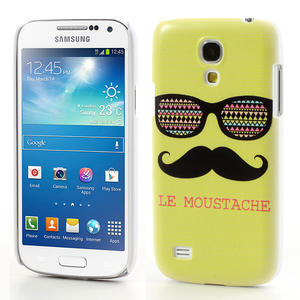 Plastové pouzdro na Samsung Galaxy S4 mini i9190- Le moustache - 1