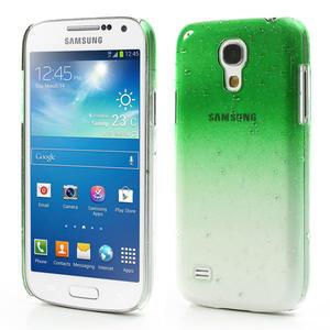 Plastové minerálné puzdro pre Samsung Galaxy S4 mini i9190- zelené - 1