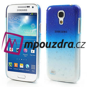 Plastové minerálné puzdro pre Samsung Galaxy S4 mini i9190- modré - 1