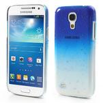 Plastové minerálné puzdro pre Samsung Galaxy S4 mini i9190- modré - 1/5