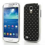 Drahokamové puzdro pro Samsung Galaxy S4 mini i9190- čierne - 1/6