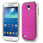 Drahokamové pouzdro pro Samsung Galaxy S4 mini i9190- růžové - 1/5