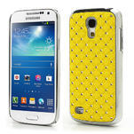Drahokamové pouzdro pro Samsung Galaxy S4 mini i9190- žluté - 1/5