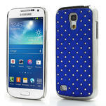 Drahokamové pouzdro pro Samsung Galaxy S4 mini i9190- modré - 1/5