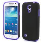 Hybridné puzdro pre Samsung Galaxy S4 mini i9190- fialové - 1/5