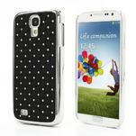 Drahokamové pouzdro pro Samsung Galaxy S4 i9500- černé - 1/7