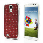 Drahokamové puzdro pro Samsung Galaxy S4 i9500- červené - 1/7