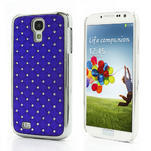Drahokamové puzdro pro Samsung Galaxy S4 i9500- modré - 1/7