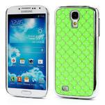Drahokamové pouzdro pro Samsung Galaxy S4 i9500-zelené - 1/6