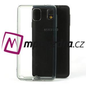 Gélové hybrid puzdro na Samsung Galaxy Note 3- šedé - 1
