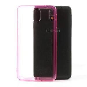 Gélové hybrid puzdro na Samsung Galaxy Note 3- růžové - 1