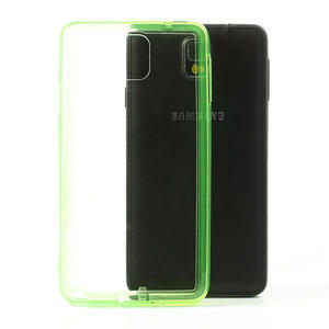 Gélové hybrid puzdro na Samsung Galaxy Note 3- zelené - 1