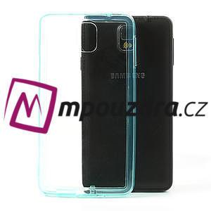 Gélové hybrid puzdro na Samsung Galaxy Note 3- svetlo modré - 1