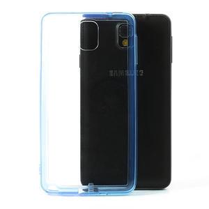 Gélové hybrid puzdro na Samsung Galaxy Note 3- modré - 1