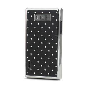 Drahokamové puzdro pre LG Optimus L7 P700- čierné - 1