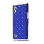 Drahokamové puzdro pre LG Optimus L9 P760- modré - 1/7
