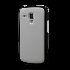 Plastogélové puzdro na Samsung Galaxy Trend, Duos- čierné - 1