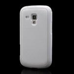 Plastogélové puzdro pre Samsung Galaxy Trend, Duos- biele - 1/5